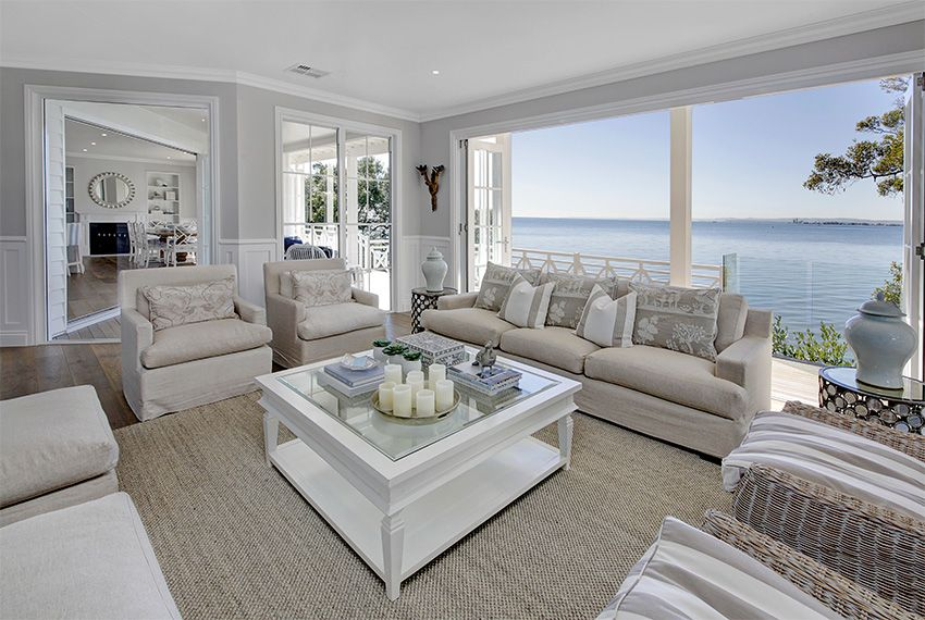 Azienka w stylu hampton style w azience for Hamptons style floor plans