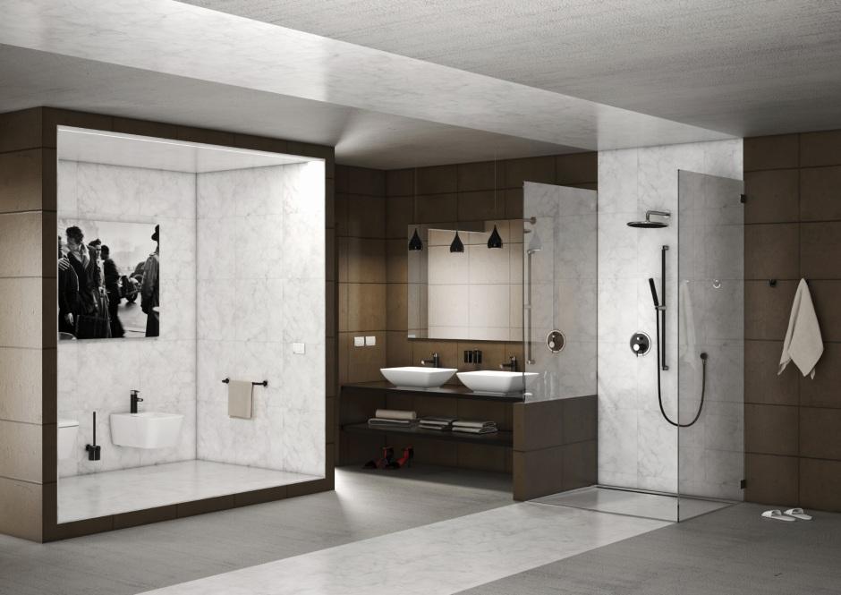 Ceramika do loftowej łazienki – prosta forma minimalizmu