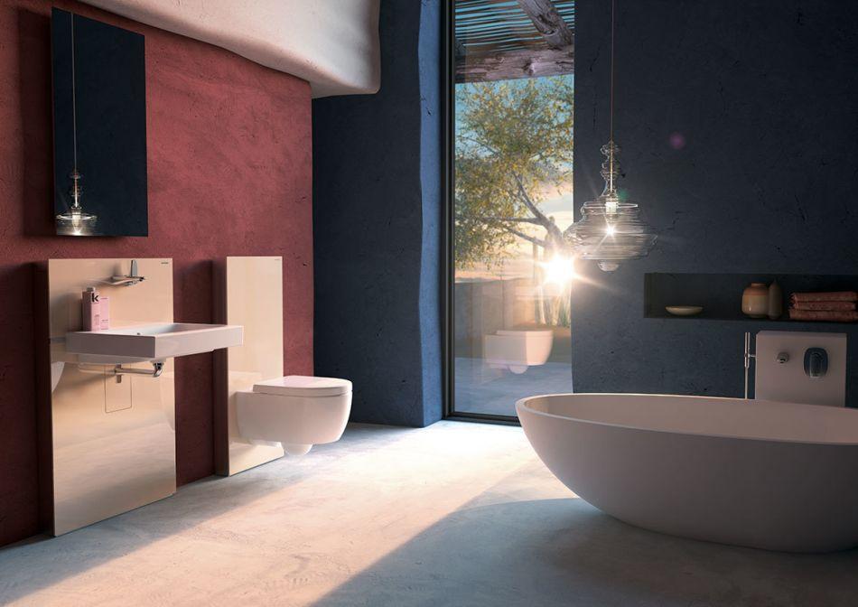 Geberit Monolith - nowy pomysł na aranżację łazienki