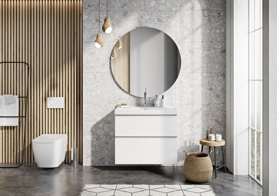 Meble łazienkowe Look, czyli piękno bez nadmiaru