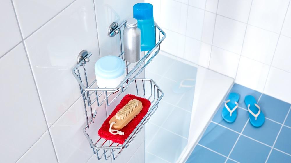tesa BAATH podwójny koszyk pod prysznic