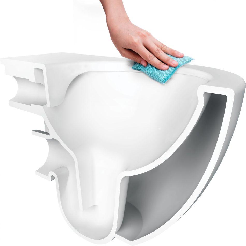 Toaleta bezrantowa Peonia