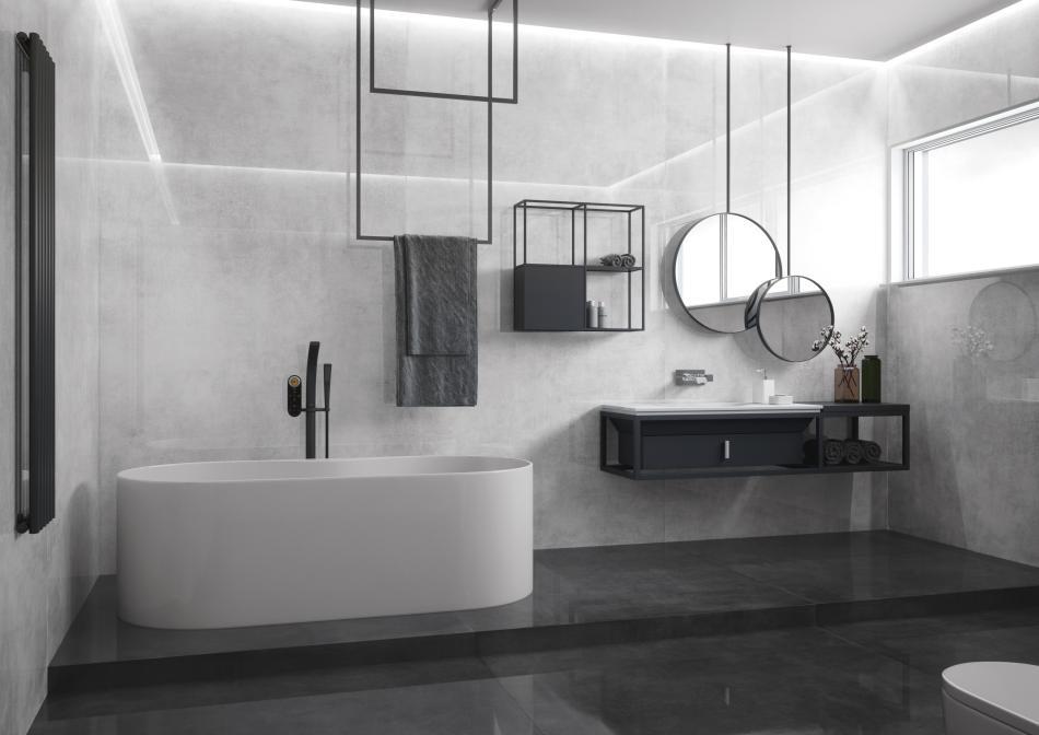 Rodzaje płytek łazienkowych - co jest modne