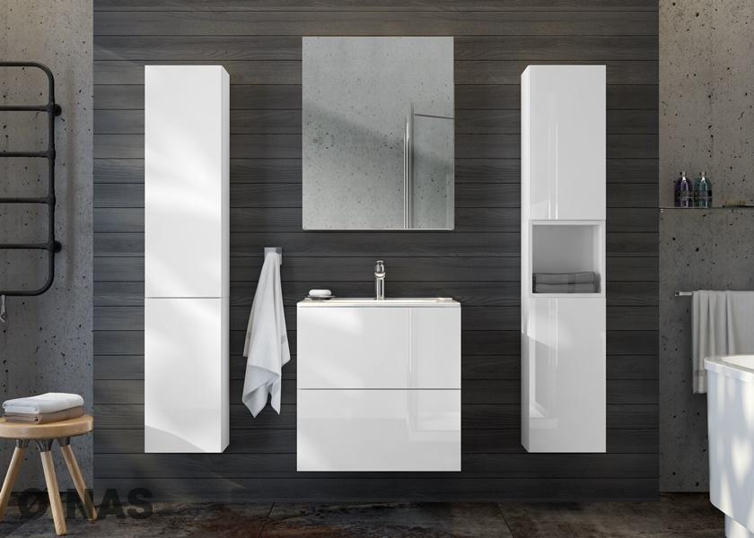 TORINO - propozycja aranżacji łazienki w rozmiarze S