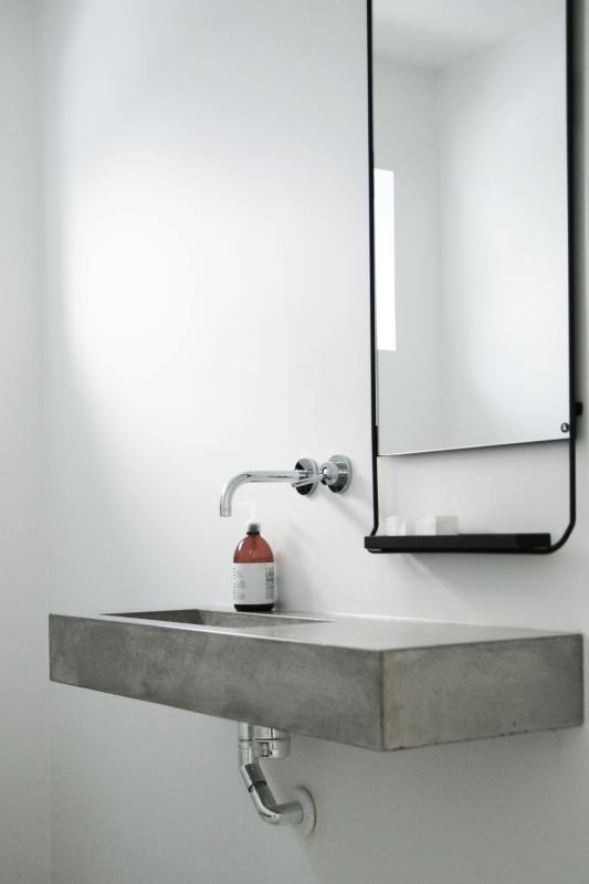 Luxum - umywalka betonowa