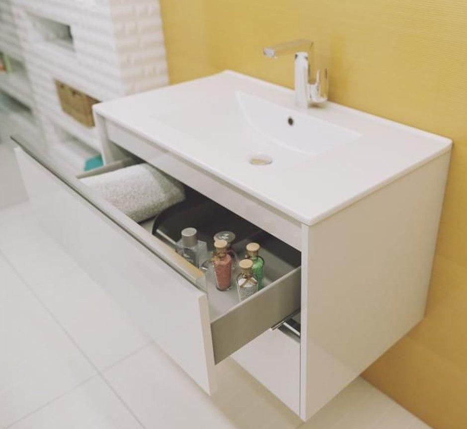 Defra - szafka łazienkowa z kolekcji Fonte