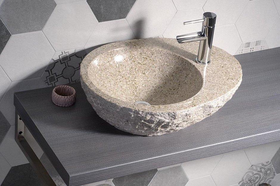 Umywalka kamienna Sapho