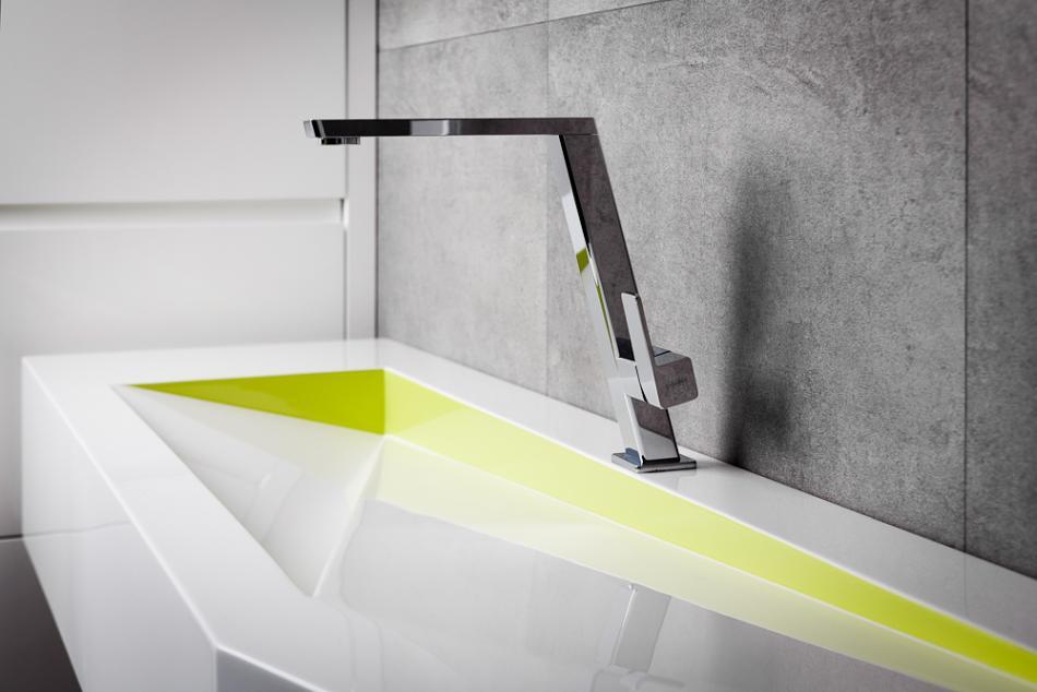 kolorowa umywalka Luxum
