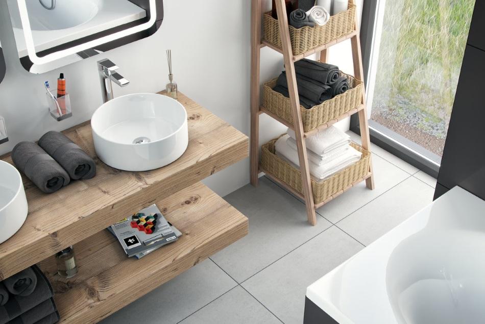 Oryginał Na czym postawić umywalkę - umywalki, miski wc, pisuary lazienkowy.pl ZS04