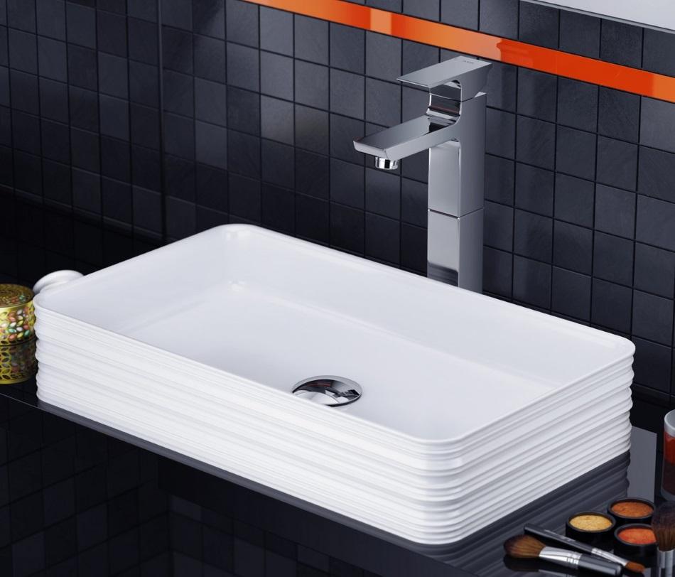 Excellent - umywalka nablatowa Trace