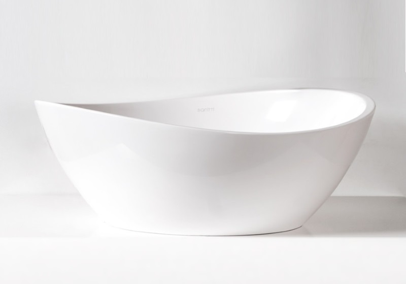 Sanitti - umywalka nablatowa Tre