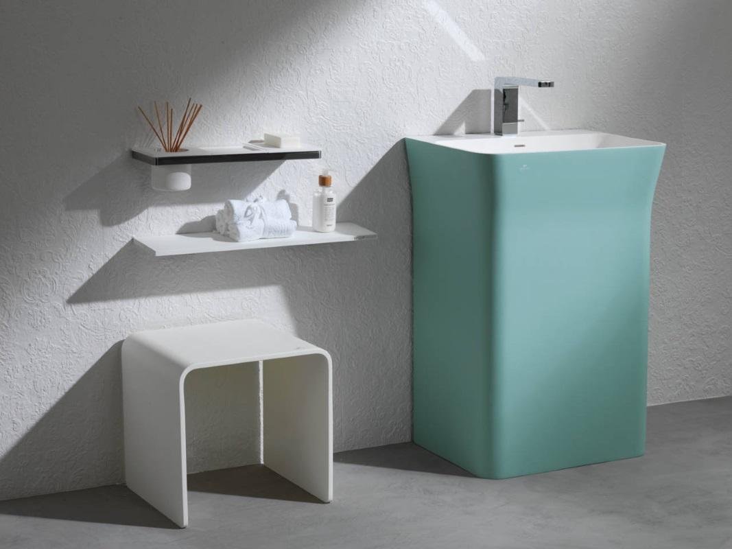 Umywalki stojące Porcelanosa KRION Modul Mint - Salonika