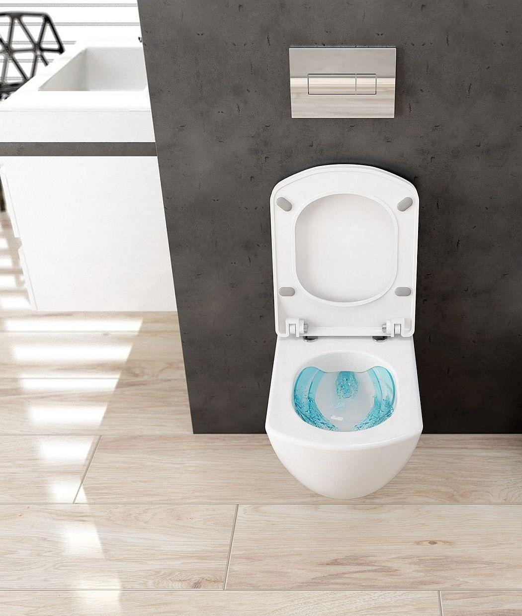 Toaleta bezrantowa Anemon Zero od Deante
