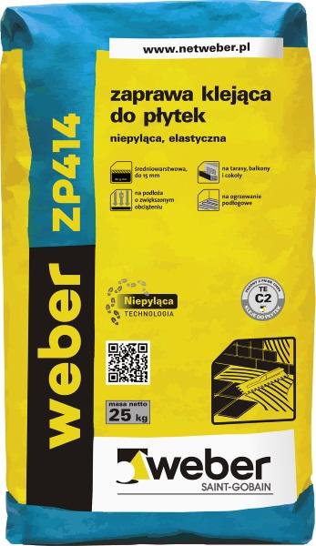 weber ZP 414  - zaprawa klejąca do płytek