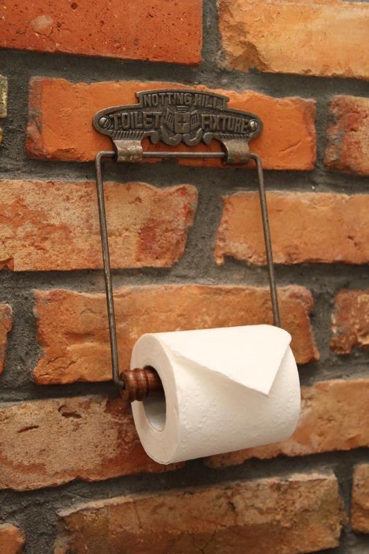 Retro wieszak na papier toaletowy DIY