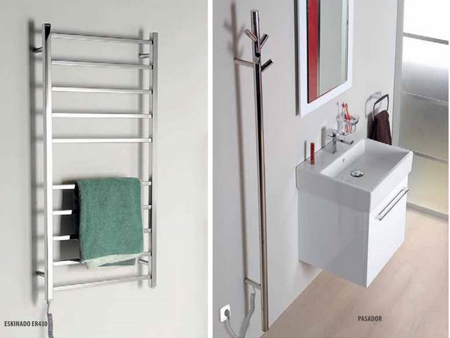 Elektryczne suszarki do ręczników