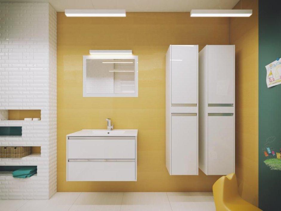 Defra - szafki łazienkowe wiszące Fonte