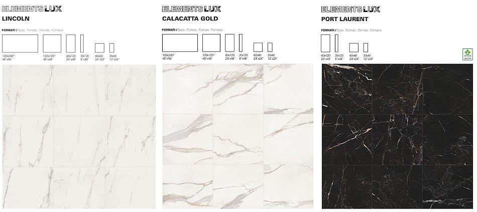 Elements Lux - płytki inspirowane marmurem