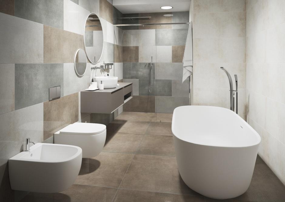 Wzory układania płytek w łazience - przykładowe aranżacje