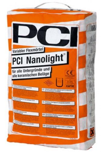 Uniwersalny, odkształcalny klej cementowy PCI Nanolight®