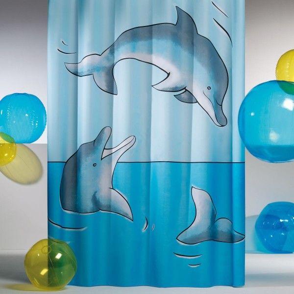 Coram - zasłona prysznicowa Flipper