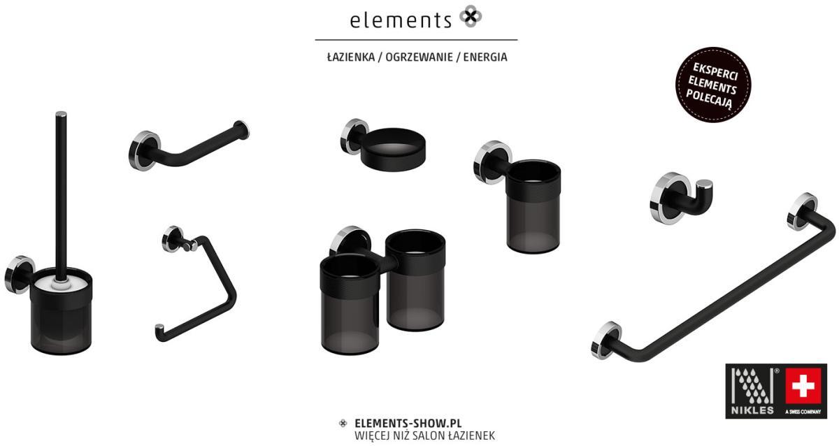 zestawienie akcesoriów Nikles - Salony Łazienek Elements
