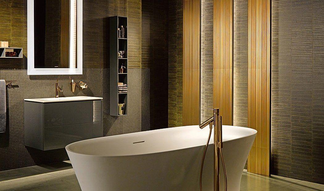 Złoto W łazience Dodatki W Szlachetnym Kolorze Boksy