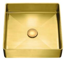 Złota armatura - łazienka jak z żurnala
