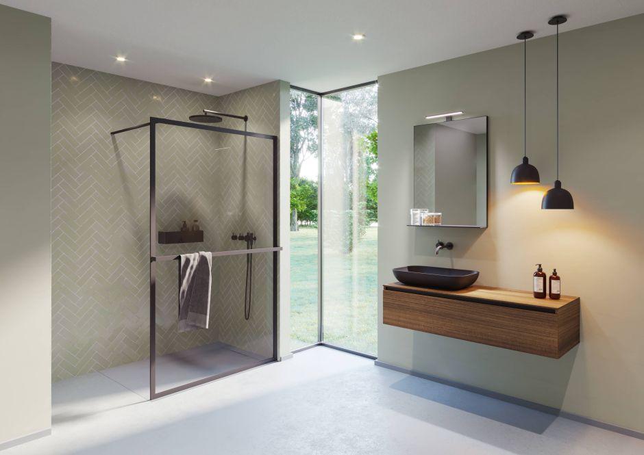 Kabiny prysznicowe kolekcja Lucid Riho