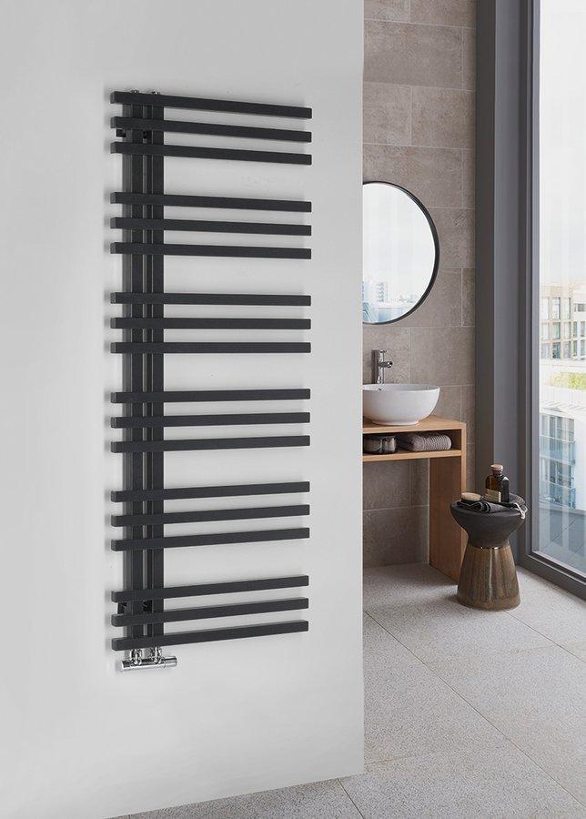 Grzejniki czarne - nie tylko do łazienki w stylu loft