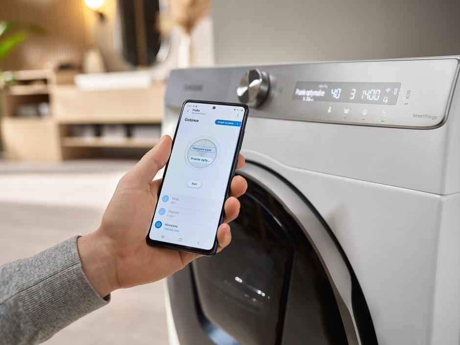 Innowacyjna rozwiązania od Samsung dla większej wygody prania