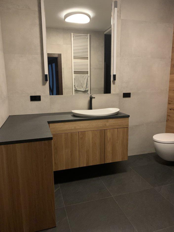 Meble drewniane w łazience – natura i funkcjonalność