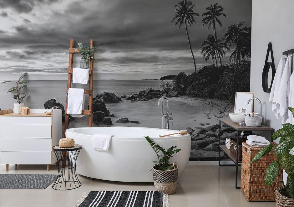 Aranżacja łazienki prawdziwego wilka morskiego, czyli pomysły na fototapety z morzem