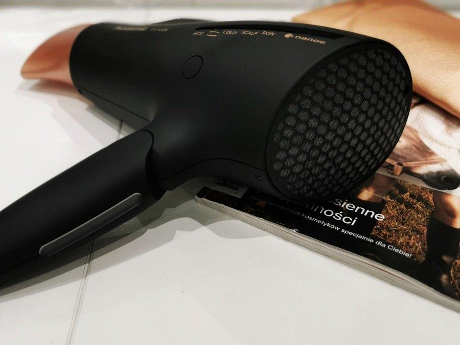 Łatwy w czyszczeniu filtr w suszarce do włosów