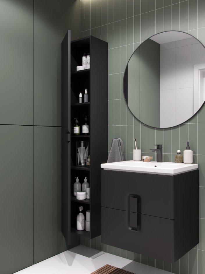 Szafki do łazienki wiszące pod umywalkę – pojemne i wygodne