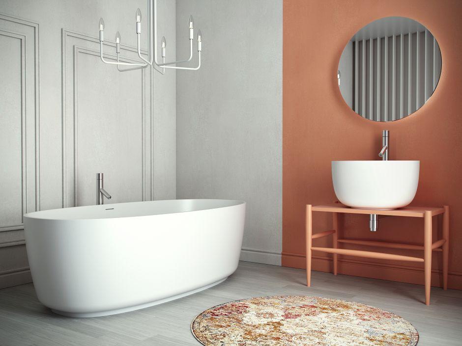 Konglomerat zamiast ceramiki – umywalki Cristalstone