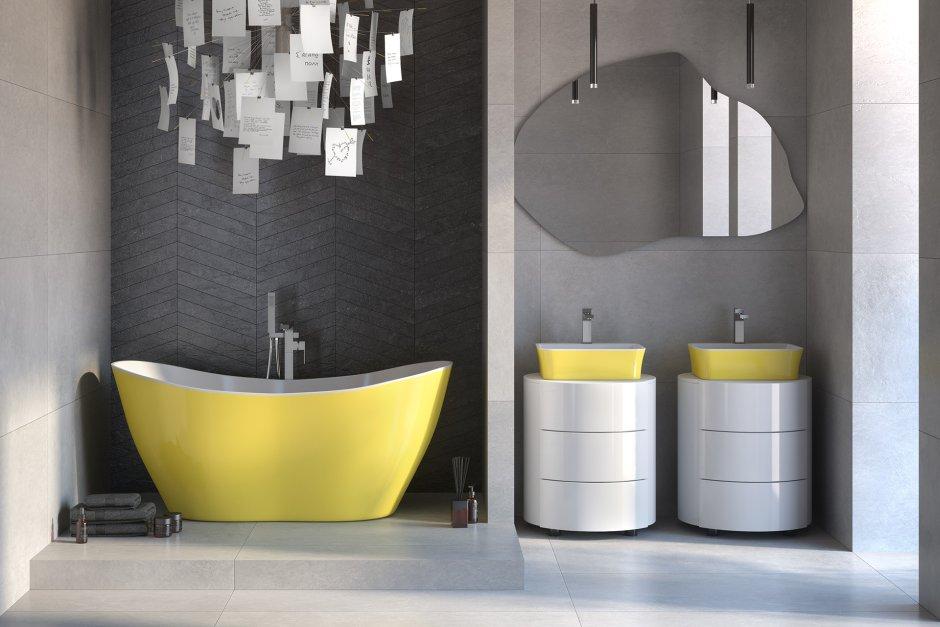 Łazienka w kolorach roku 2021