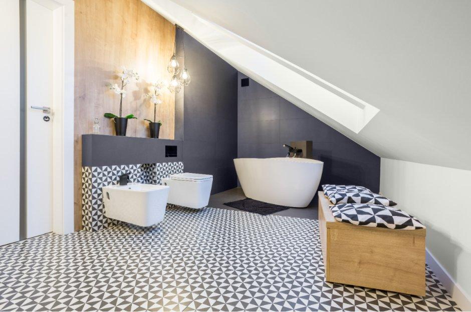 Łazienka w stylu skandynawskim  – inspiracje