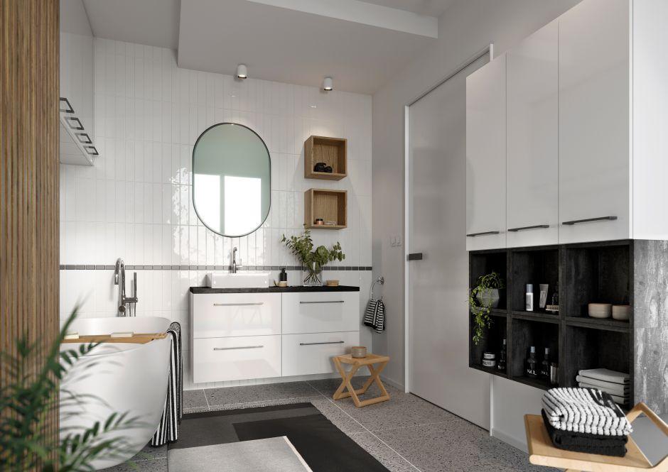 Dwoje zabieganych – jedna łazienka