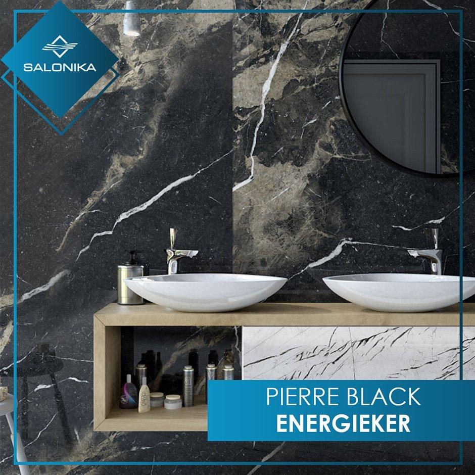 Płytki Pierre Black od Energierker