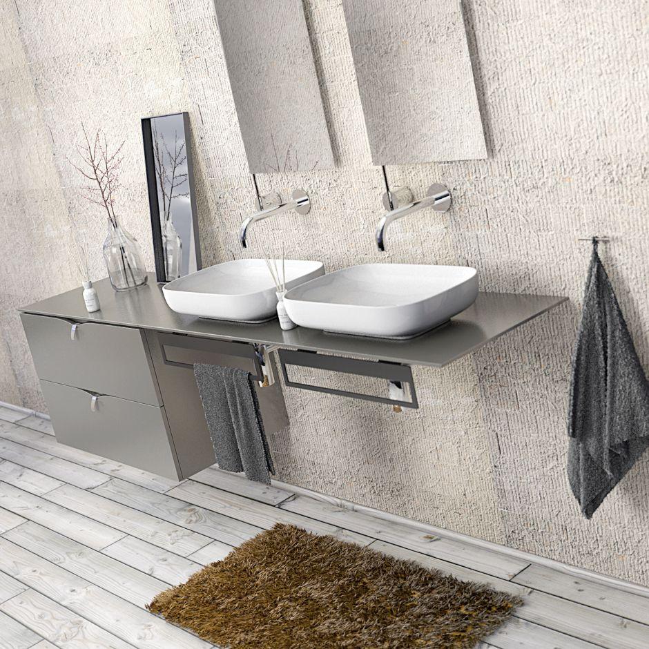 Meble wiszące do łazienki ortisto
