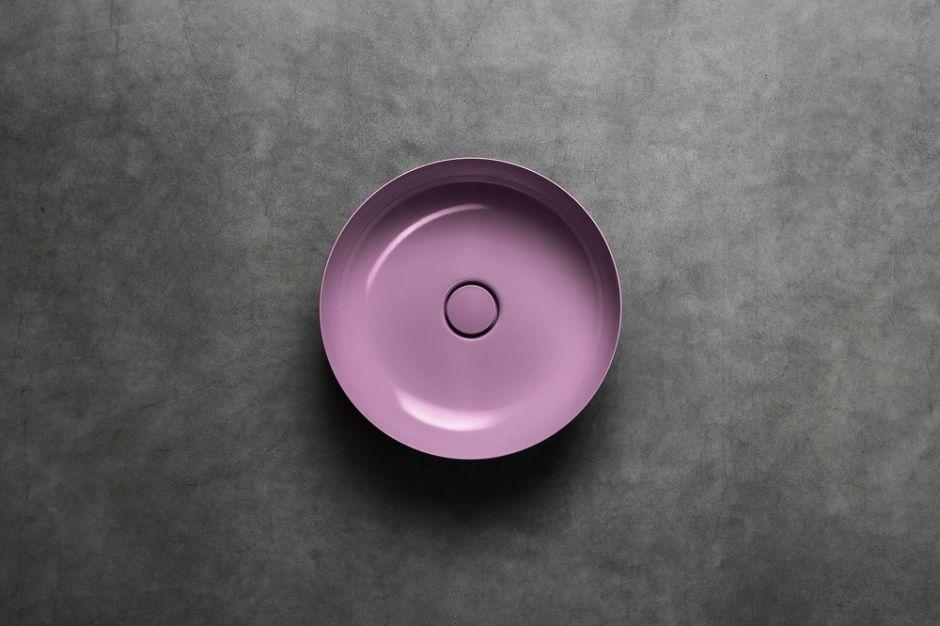 Umywalka Miena wykonana ze stali emaliowanej Kaldewei