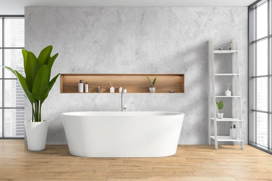 Wodoodporne płyty SPC - najmodniejsze wzory na ścianie w łazience