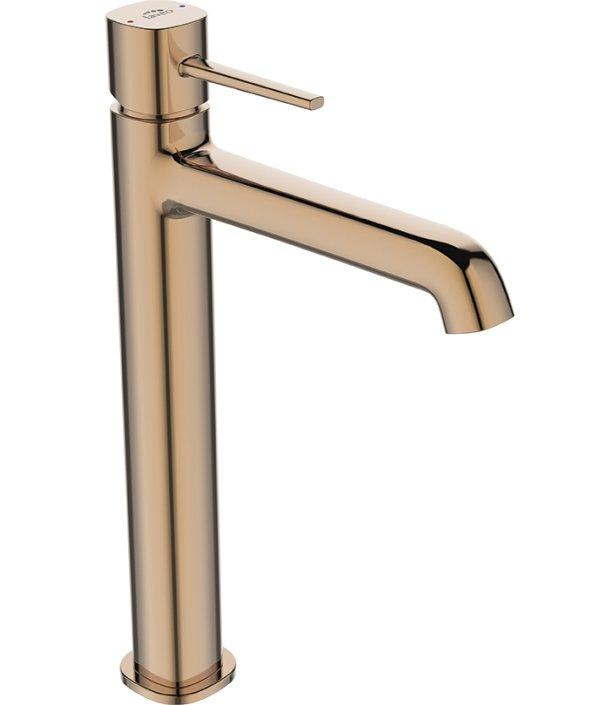 Seria baterii łazienkowych POLA w różowym złocie