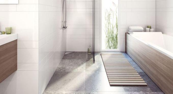 Purus Corner - nowoczesny typ odwodnień prysznicowych