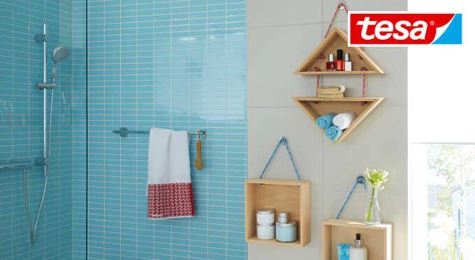 Stylowa łazienka: 5 sposobów na przechowywanie kosmetyków