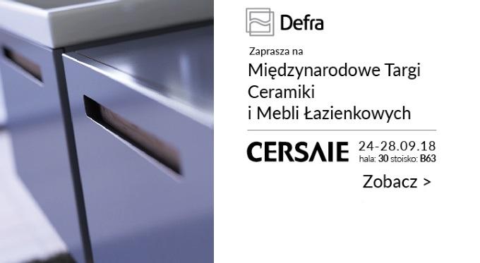 Defra zaprasza na CERSAIE