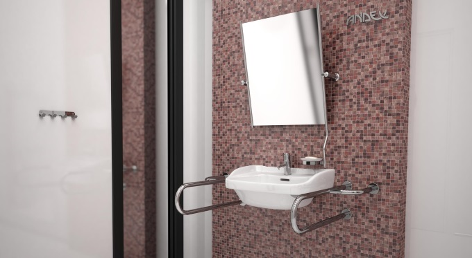 Łazienka bez barier - akcesoria Andex