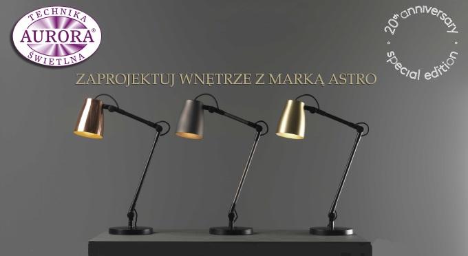 Konkurs Astro Lighting - 20 lat na rynku oświetleniowym