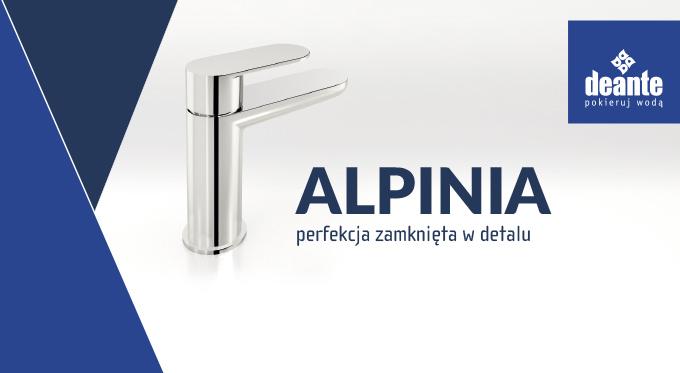 Jak dobrać produkty do łazienki? Nowa kolekcja Alpinia od Deante